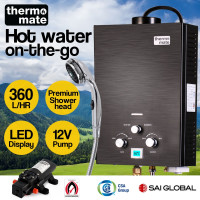 Thermomate 12V Tankless Portable Camping Shower Water Heater
