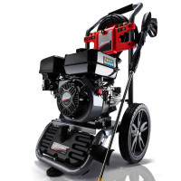 JET-USA 4800PSI Petrol Powered High Pressure Washer w/ 30m Hose and Drain Cleaner - CX630 Gen IV