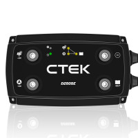 CTEK D250SE Dual Input DC-DC 20A Smart Battery Charger for 12V Lead Acid or Lithium