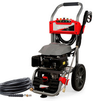 JET-USA Petrol-Powered High Pressure Cleaner Washer w/ 30m Hose and Drain Cleaner - CX660