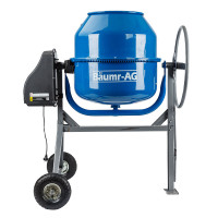 Baumr-AG 210L Portable Electric Concrete Mixer