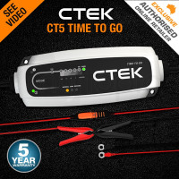 CTEK 12V Smart Battery Charger- CT5 Time To Go