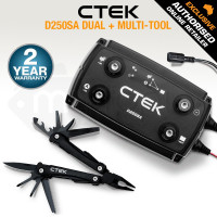 CTEK 12V Bundle Multi Tool Smart Battery Charger D250SA