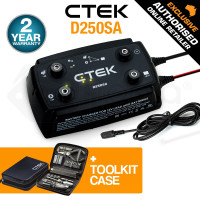 CTEK 12V 20A Dual Input Bundle Smart Battery Charger - D250SA