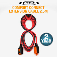 CTEK 2.5M Comfort Connector Extension Cable