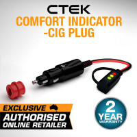 CTEK Comfort Indicator Cig Plug Battery Charger Power 56-870 Connector Cable