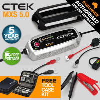 CTEK 12V 5A Bundle Smart Battery Charger- MXS 5.0