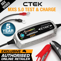 CTEK 12V 5Amp Test & Charge Battery Charger - MXS5.0