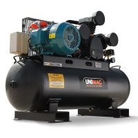 UNIMAC Industrial Electric Air Compressor 115PSI 150L 12HP 3 Phase