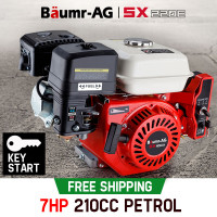 Baumr-AG 7HP Petrol Stationary Engine - SX220E