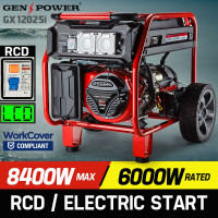8,400W Single Phase Petrol Generator -GX12025i