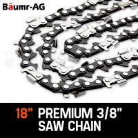 "Baumr-AG 18"" Chainsaw Chain 18in Bar Replacement Suits 45CC Pruning Saws SX45"