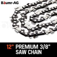"Baumr-AG 12"" 3/8 Pitch Chainsaw Chain for Pole Tools"