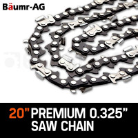 "Baumr-AG 20"" Tru-Sharp .325"" Pitch Chainsaw Chains"