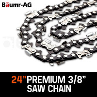 "Baumr-AG 24"" Tru-Sharp 3/8"" Pitch Chainsaw Chains"