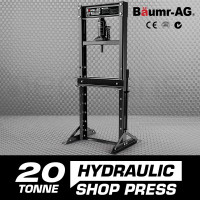 Baumr-AG 20 Tonne Hydraulic Shop Press - T20 - PRE-ORDER
