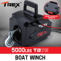 5000lbs Electric Boat Winch TB75
