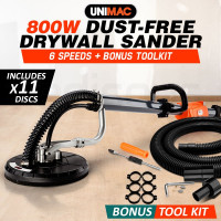 160cm 800W Dustless Drywall Sander