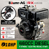 Baumr-AG 460cc 10HP Diesel Stationary Engine RX460E