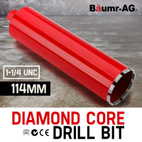 Baumr-AG 114mm Diamond Core Drill Bit