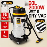 60L Vacuum Wet & Dry, Blowing