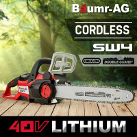 Baumr-AG 40V Cordless Electric Chainsaw- SW4 E-FORCE 400 Series