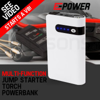 E-POWER Portable Jump Starter 18000mAh Battery Charger Power Bank Vehicle 12V Minimax