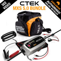 CTEK Bundle Smart Battery Charger - MXS5.0