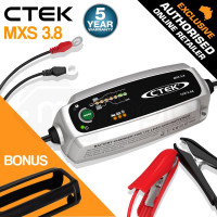 CTEK MXS 3.8 12V 3.8 Amp Smart Battery Charger Car Motorcycle Caravan AGM Bumper