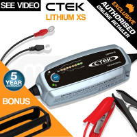 CTEK 12V 5A Bumper Cover Bundle Smart Battery Charger - Lithium XS