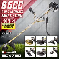 Baumr-AG 65CC Brushcutter Whipper Snipper Trimmer Brush Cutter Multi Pole Tool - PRE-ORDER - Shipping from 01/07