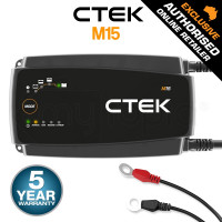 CTEK 12V 15A IP44 Marine Boat Battery Charger- M15