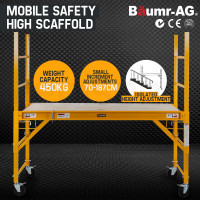 450kg Adjustable Scaffolding Work Platform