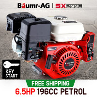 Baumr-AG 6.5HP Petrol Stationary Engine - SX200E