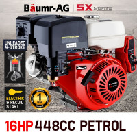 Baumr-AG 16HP Petrol Stationary Engine -SX450E