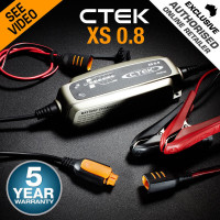 CTEK 12V 0.8Amp XS0.8 Smart Battery Charger