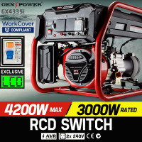 4,200W Single Phase Petrol Generator - GX4335i