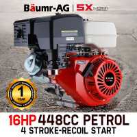 Baumr-AG 16HP Petrol Stationary Engine - SX450