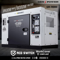 8,400W Single Phase Diesel Generator -GXS14000D SeriesII