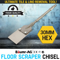 Baumr-AG JackHammer Chisel Floor Scraper Jack Hammer Flexible Tile Lifter