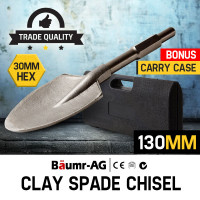 Baumr-AG JackHammer Clay Spade Extra Wide Pointed Chisel Jack hammer Tipped