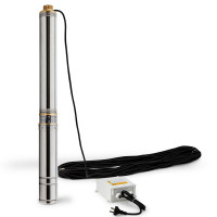 Protege 1.5HP Submersible Bore Water Pump Deep Well Irrigation Stainless Steel