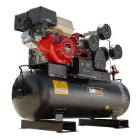 Industrial Air Compressor - Petrol 18HP 150L Electric Start - UMC-15P