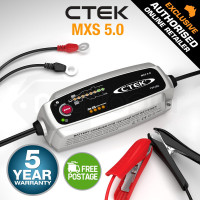 CTEK 12V 5Amp Smart Battery Charger - MXS5.0