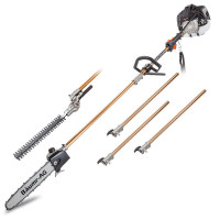Baumr-AG 65cc 2in1 Long Reach Petrol Pole Tool -SMX220