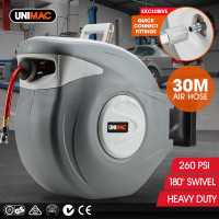 30m Air Hose & Retractable Reel - A32