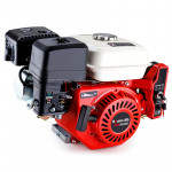 6.5HP Petrol Engine Stationary Motor OHV Horizontal Shaft Electric Start Recoil