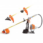 MTM 62cc 3 in 1 Backpack Brush Cutter - MBX300