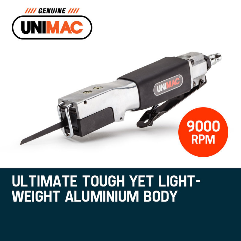 UNIMAC Pneumatic Reciprocating Hack Saw Air Cut Off Metal Blade Body Tool by Unimac