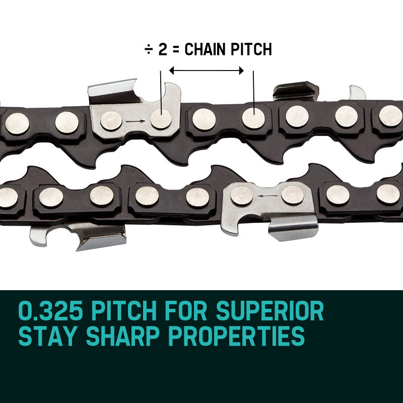 "20"" Baumr-AG Chainsaw Chain 20in Bar Spare Part Replacement Suits 62CC 66CC Saws by Baumr-AG"